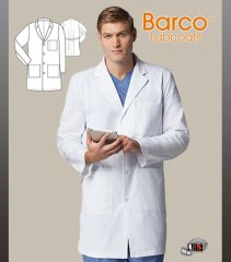 "Barco Prima 38"" 4 Pocket Classic Men's Lab with 4 Patch Pockets"