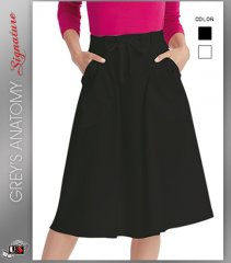 Signature by Grey's Anatomy™ Women's A-Line 3-Pocket Skirt