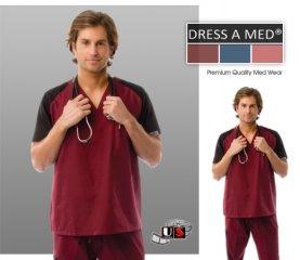 maroon scrubs Gallery