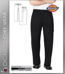 Dickies Chef Unisex 3 Pockets Traditional Baggy Chef Pant