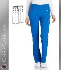579a94dea69 Cherokee iflex Women's Mid Rise Straight Leg Pull-On Pant [CK002 ...