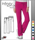 Cherokee Infinity Low-Rise, Straight Leg Pant