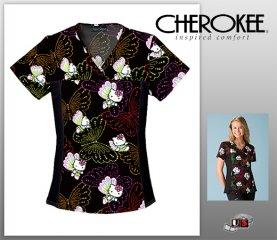 817a25cfac5 Hello Kitty Cherokee Flexibles Tops - Dots Of Butterflies [6875C ...