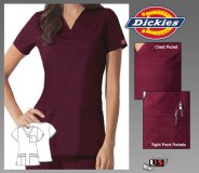Dickies Gen Flex Solid Stitch Youtility V-Neck Top