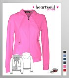 HeartSoul Picture Perfect All Fur Love Zip Front Hooded Jacket