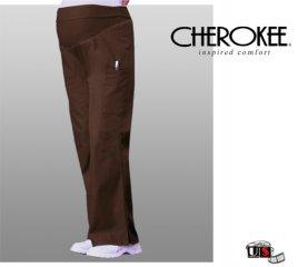 24729ef50ff Cherokee Maternity Flare-Leg Pant Chocolate [2092-CHCB] - $24.00 ...