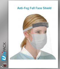 UNIPACK Anti-Fog Full Face Shield
