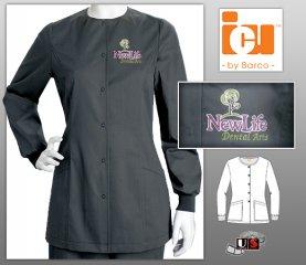 New Life Dental Arts Embroidered ICU Uniform Jacket