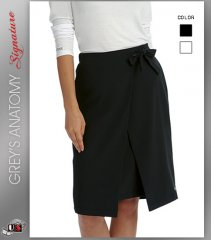 Signature by Grey's Anatomy™ Women's Faux Wrap Skirt