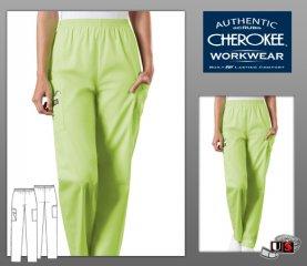 9aaae68d32b Cherokee Workwear's Solid Elastic Waist Utility Pant [4200] - $15.00 ...