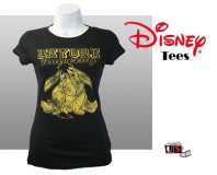 Disney Printed Eeyore Comfortable Black Tees