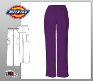 Dickies EDS Signature Missy Fit Natural Rise Tapered Leg Pull-On