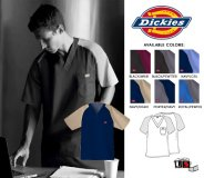 Dickies Original Men's Fit Raglan Color Blocks Scrub Top