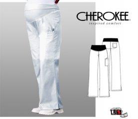 0a6fab03f4932 Cherokee Maternity Flare-Leg Pant White [2092-WHTD] - $24.00 : Nurse ...