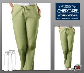 18f4c9d20bb Cherokee Workwear's Solid Flare Leg D/S Scrub Pant [4101] - $16.00 ...