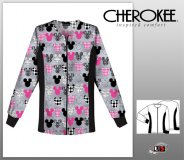 Cherokee Tooniform Warm-up Jacket - Mickey