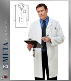 "267 Meta Labwear Men's 40"" Labcoat"