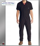 Natural Workwear Mens Short Sleeves Basic Blended Work Coverall