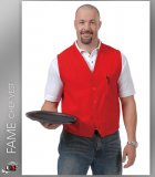 FAME Chef Unisex Vests Most Popular - Red