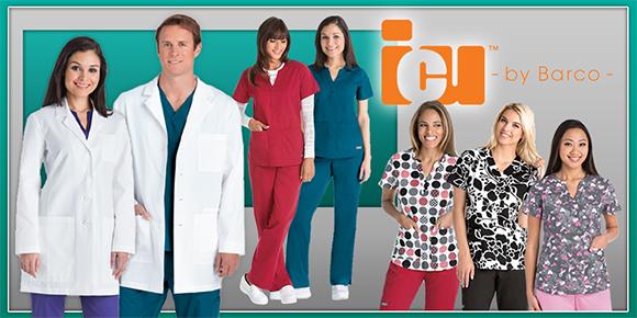 ICU Barco Scrub Uniforms