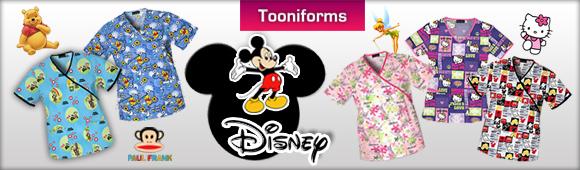 273b51e07d6 Disney Scrub Tops : Nurse Scrubs in Los Angeles Uniform Studio ...